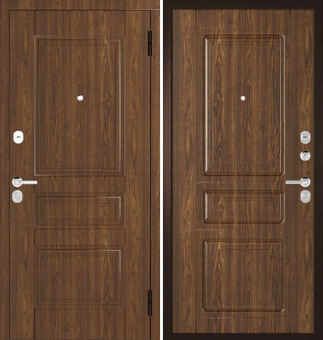 Входная дверь Арт-классика - 01 (Дуб Тёмный) Vinorit без патины: цены, характеристики, фото